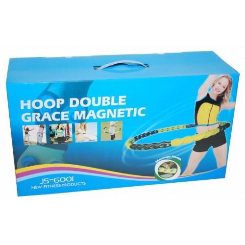 Массажный обруч для похудения Hoop Double Grace Magnetic 1.8 кг