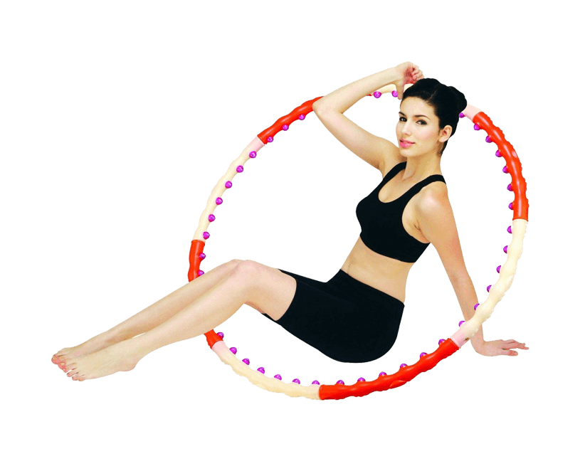 Массажный обруч Health Hoop Magnetic 1,2 кг